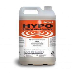Kemsol Hypo Sodium Hypochlorite 15% 5L