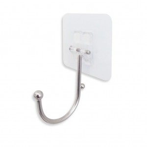Wall Hook With Suction Back