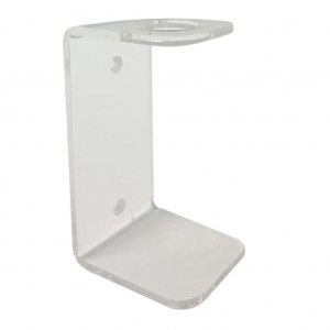 Clear Acrylic Single Wall Mount Bracket