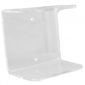 27203-Clear-Acrylic-Double-Wall-Mounted-Dispenser-Bracket