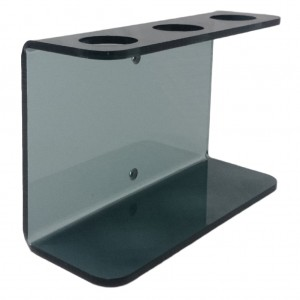 Coloured Acrylic Triple Wall Bracket