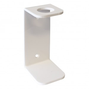 White-Acrylic-Single-Wall-Bracket