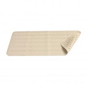 White Rubber Non Slip Bath Mat 40x70cm