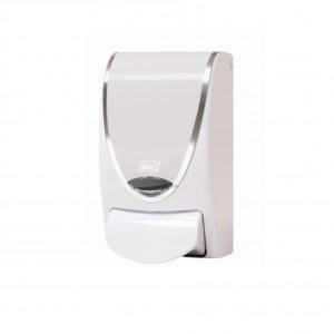 Deb Proline 1L WhiteChrome Soap Dispenser