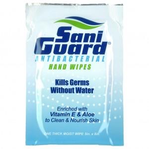 Saniguard Antibacterial Wipes 500