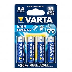 Batteries AA Alkaline 4 Pack