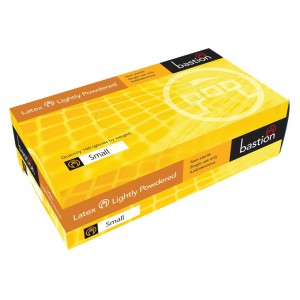 Bastion Latex LP Small Disposable Gloves 100