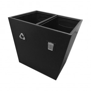 Large 2 Compartment Recycling Bin
