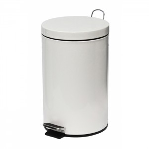 29680_12l-White-Powder-Coated-Pedal-Bin