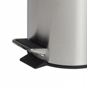 5L Round Stainless Steel Pedal Bin
