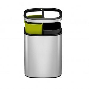 10L Rectangular S/S Recycling Bin