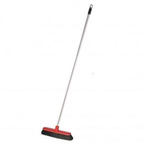Raven Eco Indoor Broom with White Steel Handle