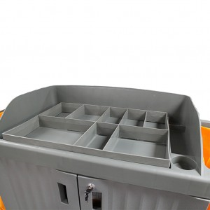 Trolley Divider for Housekeeping Carts