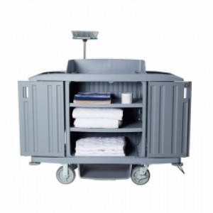 Compass Housekeeping Trolley with Doors