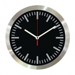 31016_Compass-30cm-Aluminium-Wall-Clock