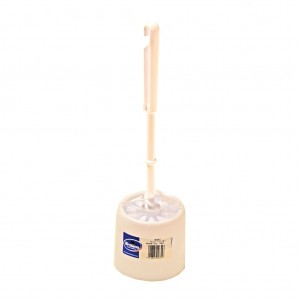 Rim Cleaning Toilet Brush & Caddie Set