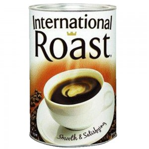 International Roast Instant Powdered Coffee 1kg Tin