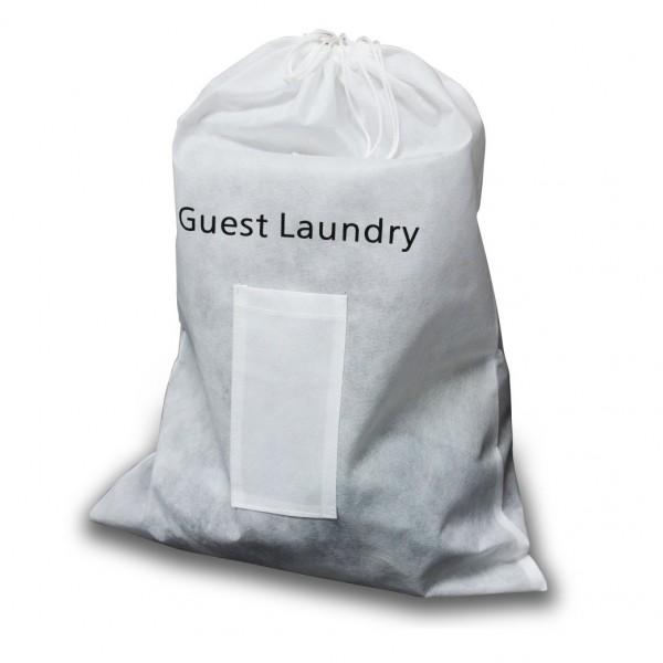 Guest non woven white laundry bag laundry bags textiles linen shop by dept starline group - X laundry bags ...