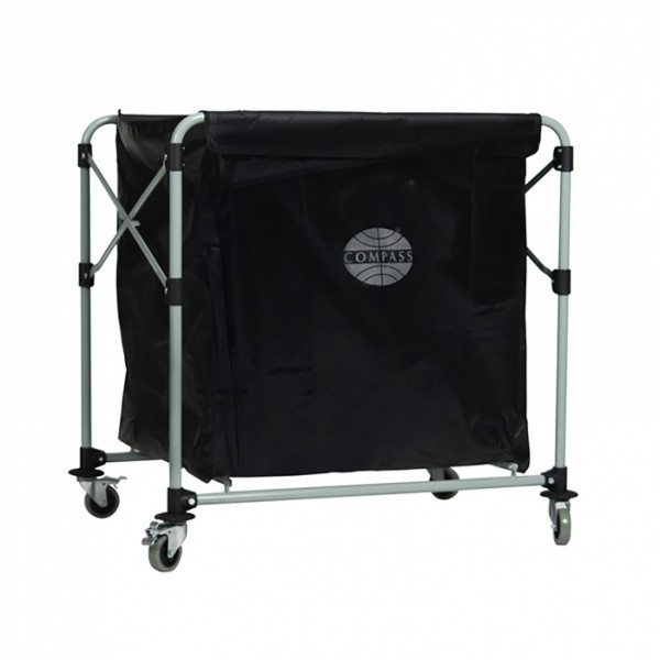 Compass Collapsible Laundry Cart 300l Carts Amp Trolleys