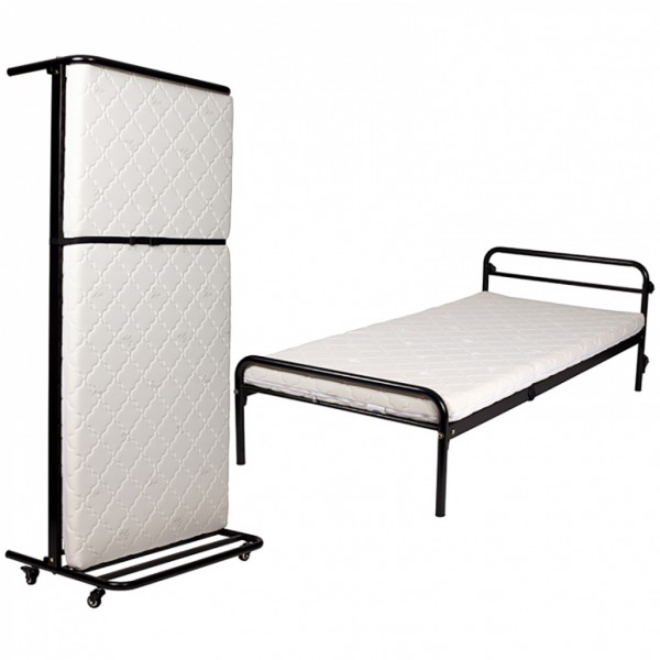 Compass Slimline Upright Rollaway Bed Foldaway